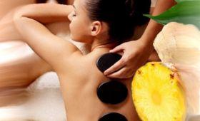 Ananasová masáž