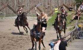 teambuilding středověké tanečnice